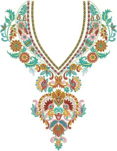 Embroidery Patterns For Kameez
