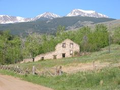 Twenty Stamp Mill, Pony, Montana