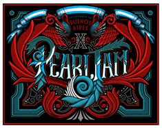 GigPosters.com - Pearl Jam - X