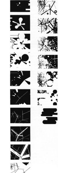 KURT KRANZ BLACK: WHITE / WHITE: BLACK, 1928-29