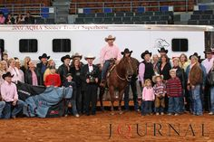 The 2007 Farnam Superhorse Award was presented to the 2000 mare, Shiners Diamond Jill, owned by Garth and Amanda Gardiner from Ashland, Kansas. Visit http://www.AQHA.com/showing for more great American Quarter Horse showing news. (Journal Photo)