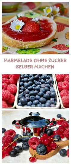 Marmelade ohne Zucker Making jam without sugar is not difficult. Whether strawberry jam or jam with peach, apricot, blueberries and Peach Recipes For Babies, Baby Food Recipes, Paleo Recipes, Food Baby, Sugar Free Jam, Sugar Free Recipes, Sugar Sugar, Healthy Drinks, Healthy Snacks