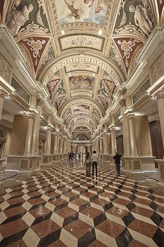 Venetian Hotel, Las Vegas, Nevada - Where my sister will be spending a few days in October, with a friend since decided Mab couldn't stand being in a kennel for 4 days. Not that I mind, I left nothing in Vegas. Nice hotel, though.