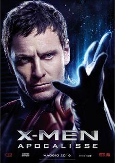 X-Men Apocalypse - Magneto. Italian promo poster.