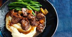 [original_tittle] – Lucy Stevens [pin_tittle] Beef daube originates from the Provence region of France. Try this modern take for a hearty winter meal. Slow Cooking, Slow Cooked Meals, Slow Cooker Beef, Slow Cooker Recipes, Cooking Recipes, Slow Food, Crockpot Meals, Cooking Tips, Beef Recipes For Dinner