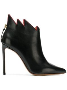 c0dd349210dc Francesco Russo jagged collar boots  463 - Shop AW18 Online - Fast  Delivery