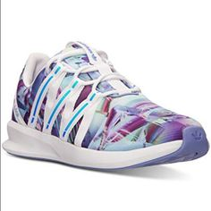 reputable site 86d8a 1fdf6 adidas Shoes   Adidas Sl Loop   Color  Purple White   Size  7