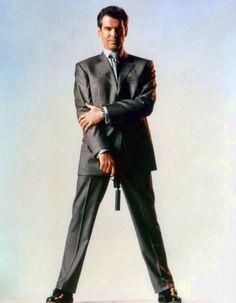 """Pierce Brosnan en """"Goldeneye"""", 1995"""