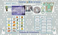 LLUVIA DE IDEAS: Descargables: Material imprimible para La Caja de las palabras de invierno