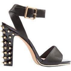 Vince Camuto Altman 2 Womens Black Studded Leather High Platform Sandals Size 7 #VinceCamuto #Strappy