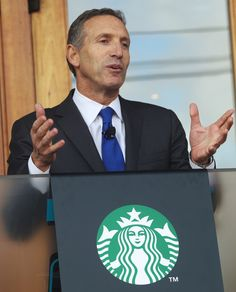 How to Contact Starbucks CEO Howard Schultz? Email, Fax, Phone & Address: Starbucks CEO, Howard Schultz