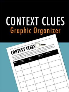 [FREE] Learning how to use context clues to decipher unfamiliar words is an important skill for reading comprehension.  Readers are able to use other words in a sentence in order to decode an unknown word and better understand the text.    This free graphic organizer allows students to figure out the meaning of new words as they encounter them in their reading.