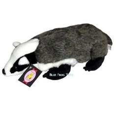 Badger Cuddly Toy | Plush Badger. I really, really want one!