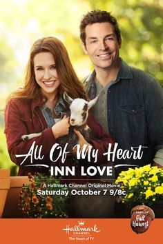 All of My Heart 2 - Fan favorites Lacey Chabert (Jenny) and Brennan Elliott (Brian) are back! Fall in love again on October 3 at 8/9c on Hallmark Channel.