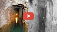The Canaanite tunnels under the City of David in Jerusalem.