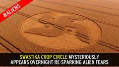 Until we witnessed a swastika crop circle for the 1st time And the nexus sexus plexus trama duplex which present a simplex!