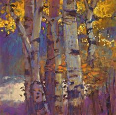 Rick Stevens Art - Octaves of Light oil on linen Landscape Art, Landscape Paintings, Oil Painting Abstract, Abstract Art, Rick Stevens, Paintings I Love, Tree Paintings, Autumn Art, Tree Art