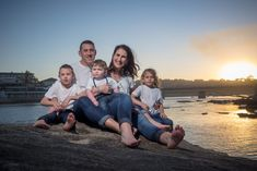 Here is a recent sneak peek from a family photo shoot we did with an amazing golden sunset