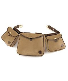 ae771444f08 Mulholland Brothers Oak Canvas Belted Game Bag