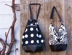 Sixta: Tasche, Rucksack oder Matchsack