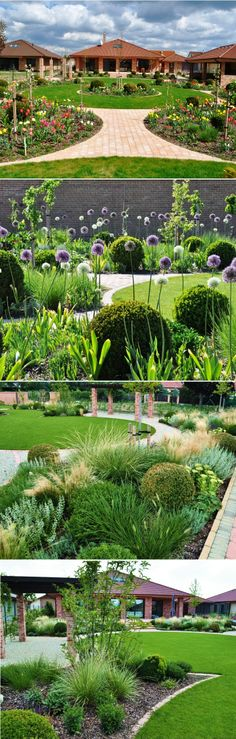 Grand Garden – The Beauty and Simplicity of Modern Landscaping Magnolia Garden in Slovak Grob with garden area of 1000 m2, built in 2011