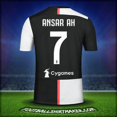 Make personalized Juventus FC jersey. Customize jersey Juventus FC with your name and number. Create jersey with the font Juventus FC Juventus Fc, Messi Y Ronaldinho, Cristiano Ronaldo Goals, Football Art, Number 7, Nike Soccer, Manchester United, Sports, Fc Barcelona