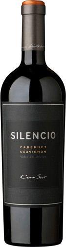 Cono sur silencio cabernet sauvignon 2013 Cabernet Sauvignon, Different Wines, Wine Down, Fine Wine, Wine Tasting, Whisky, Pescetarian Meals, Wine Labels, Drinks