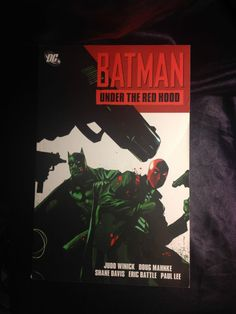 Batman: Under the Red Hood DC Softcover Graphic Novel