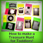 Treasure hunt for toddlers
