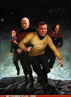 Star Fleet Captains.