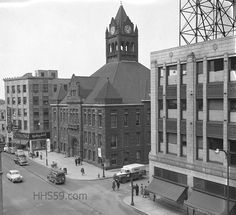 Downtown Hammond in the 1940s