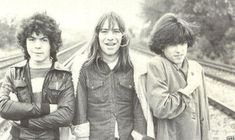 The Cure when they were teenagers (late-1970s).