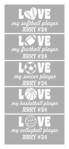 Personalized mom sports team vinyl car decal sticker football bandentrend fandeluxe Gallery