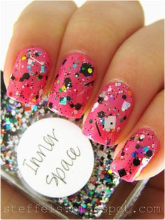 love this! 80's nails