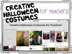 Awesome Costume Ideas for Teachers- Young Teacher Love by Kristine Nannini Teacher Halloween Costumes, Halloween Books, Halloween Halloween, Vintage Halloween, Halloween Makeup, Special Education Teacher, Teacher Blogs, Teacher Stuff, Cool Costumes