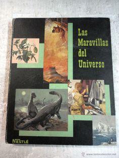 ALBUM COMPLETO Las Maravillas del Universo II, 252 cromos, Ed.Nestle 1957