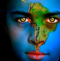 #earth #face #paint