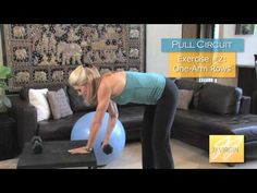 JJ Virgin - Pull Circuit Workout  // Get Great Arms!