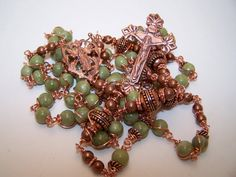 Unbreakable Rosary COPPER COLLECTION Rosary Of The by robertd5198, $174.00