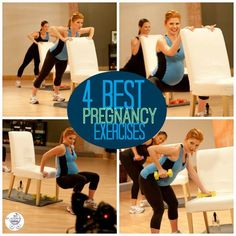 Pregnant? 4 must-do exercises! | Fit Bottomed Mamas