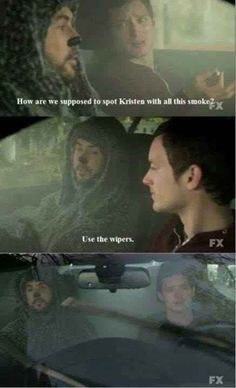 When the characters of Wilfred spoke to you: | 27 Hilarious Moments Of Stoner Logic