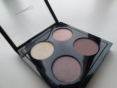 MAC Quad nylon, naked lunch, satin taupe, quarry