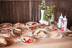 Yummy dessert table!