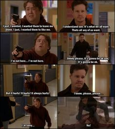 Jimmy Edwards and the School Shooting - possibly the best episode of any TV show I've ever seen!