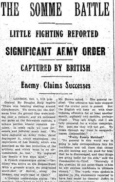 WWI, 2 Oct 1916, The Daily News, Perth