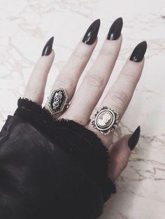 black claws.
