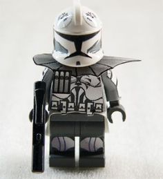 LEGO Star Wars Custom clone trooper (gray/white) 2 Minifig