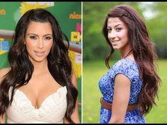 Kim Kardashian bohemian look
