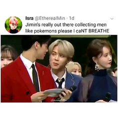 jimin meme Guillermo Though, Even He Has A - memes Bts Jimin, Bts Bangtan Boy, Kpop Gifs, Kpop Memes, Bts Memes Hilarious, Bts Funny Videos, Got7 Funny, Funny Games, Jung So Min
