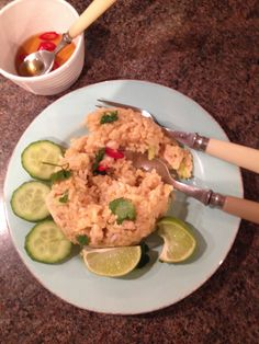 Kao Pad gai: fried rice with Chicken